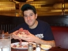 Lee eats Carnegie sandwiches (Vegas) ...