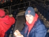 Lee eats hoagies (2009 NLCS Game 4)