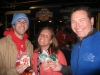 Lee makes Liza & Seth eat DiBruno's Phillies/Eagles cookies--just like Yanks/Giants/Jags fans should! (2009 WS Game 4)