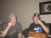 DB & Lee eat