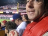 Lee eats 7th-inning stretch cookies (2010 NLCS Game 1)