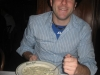 Lee eats more clam chowder (Taddich Grill, San Francisco)