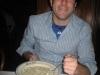 Lee eats more clam chowder (Taddich Grill, San Francisco)