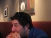 Lee eats burgers (The Dram Shop, Brooklyn)