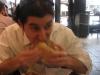 ... Lee eats a Turducken sandwich (Jake's, Philly)