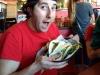 Lee eats tacos @ Burrito Gallery (Jacksonville Beach)