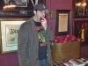 Lee eats a traditional free apple @ The Fillmore (San Francisco)