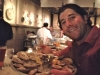 Lee eats oysters @ Sansom St Oyster House (Philly)