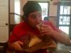 Lee eats tacos @ Burrito Gallery (Jacksonville, FL)