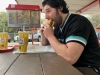 "Lee eats a burger at Top Notch Burgers in Austin, TX (""Alright, Alright, Alright ..."")  (Pre-Covid)"