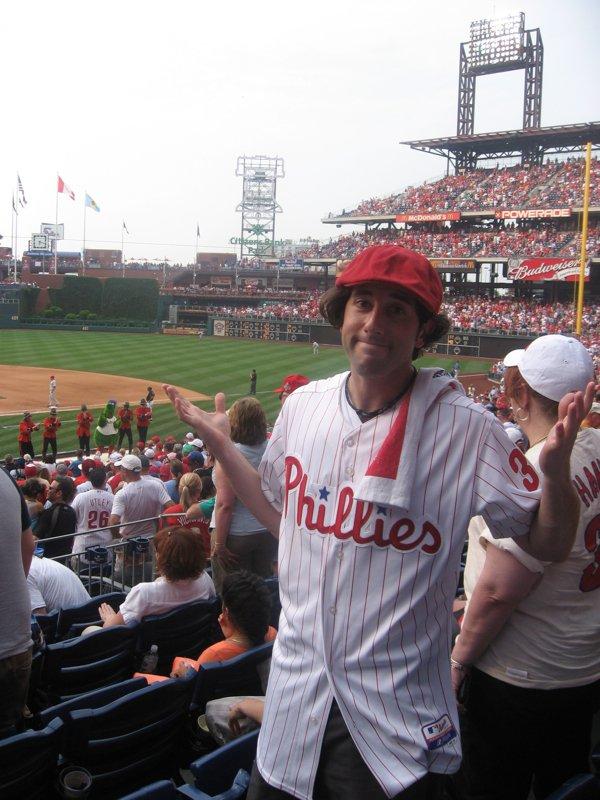 Lee shrugs at the Phils 2010 season.