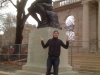 Lee shrugs at Rodin's