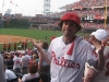 Lee shrugs at the Phils 2010 season.