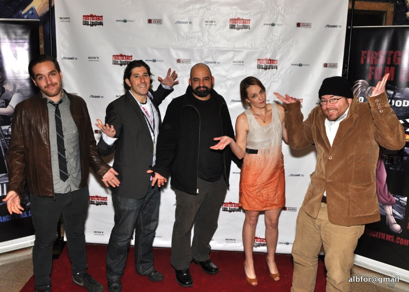 MyRuinedLife.com cast/crew shrug at winning film awards (FirstGlance Film Festival)