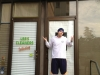 LEE shrugs at LEE\'s Cleaners