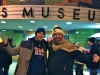 Lee & Greg Bailey shrug at the Mummers (Museum) on New Years Day (Philly)