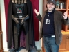 Lee shrugs at Darth Vader (Lucasfilms, San Francisco)