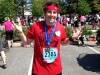 Lee shrugs post-Broad Street Run (Philly)