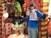 Lee & Phanatic shrug (Philly Please Touch Museum)