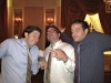 Lee, Ethan & Adam shrug @ Ryan's wedding (Philly)