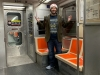 Lee shrugs at riding Septa alone.
