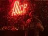 Lee shrugs at Alice in Dallas, TX (Pre-Covid).