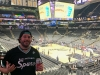 Lee shrugs in Spurs' arena (Go Spurs Go!) (Pre-Covid)
